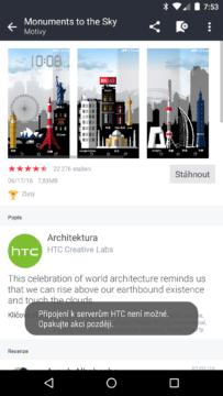 HTC Home Sense - instalace motivu