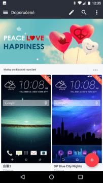 HTC Home Sense – motivy