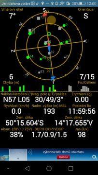Honor 6 Plus -  GPS satelity