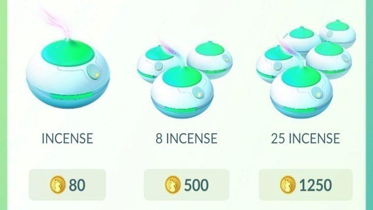 Jak hrat Pokemon Go incense