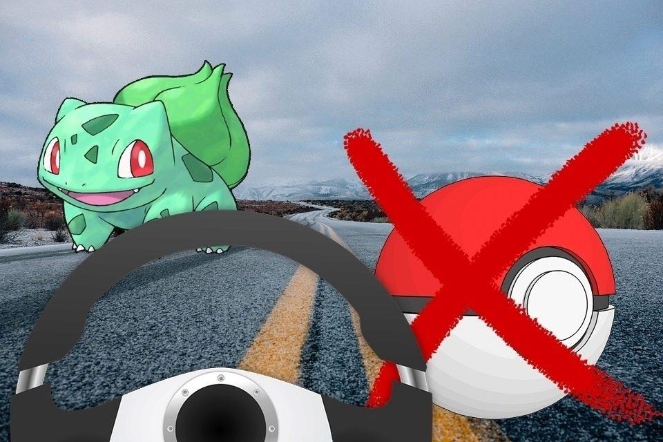 Nechytejte pokémony za jízdy