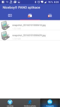 NiceBoy Pano 360 aplikace (2)