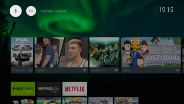 Nvidia Shield TV launcher 1