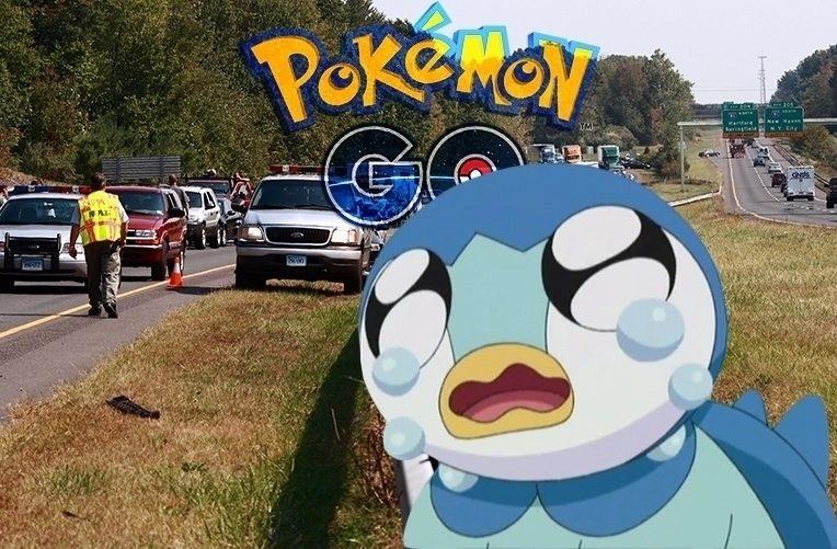 Pokémon Go – nehoda – náhleďák