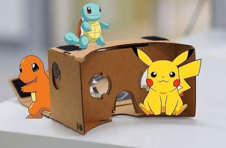 Pokémoni v Cardboardu – náhleďák