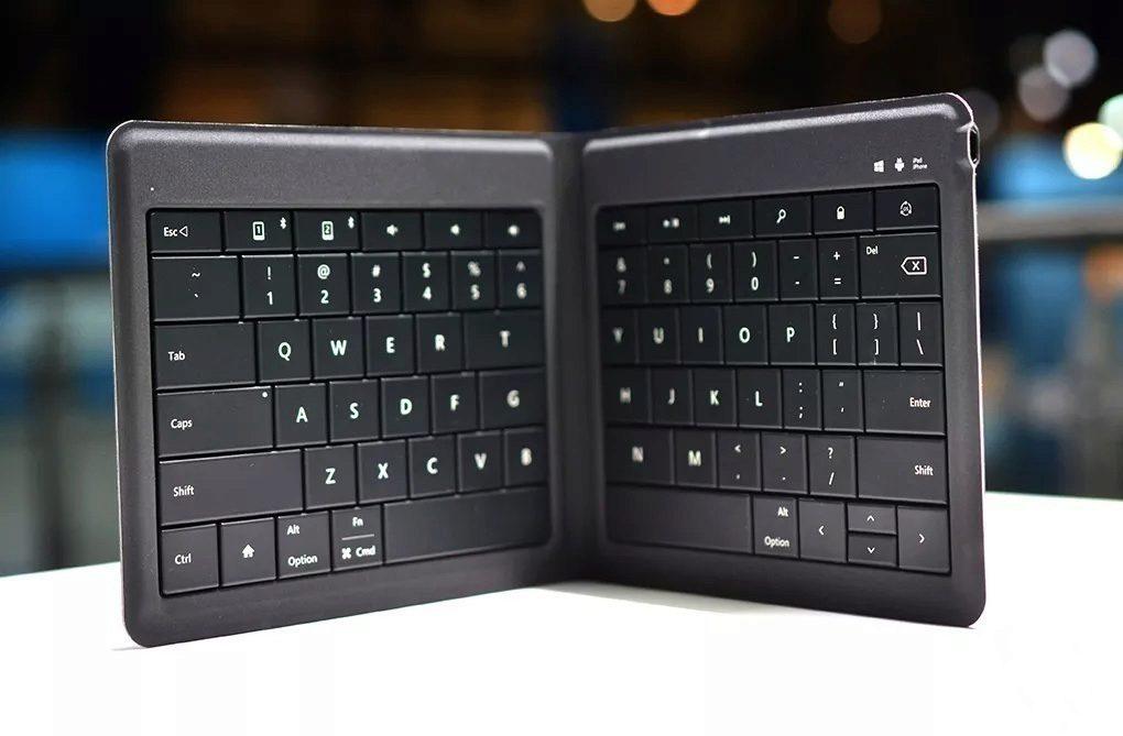 Skladací klavesnice Microsoft