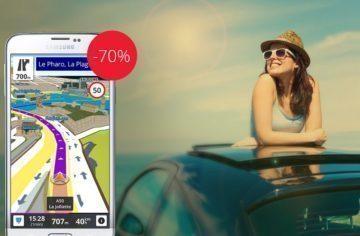 Letní nabídka: Sygic GPS Navigace nyní se slevou 70 %