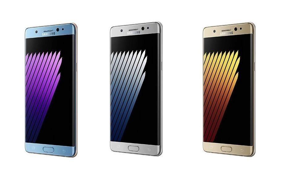 Telefon Samsung Galaxy Note - predni strana