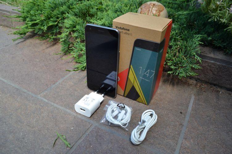 Vodafone Ultra smart 6 -obsah balení