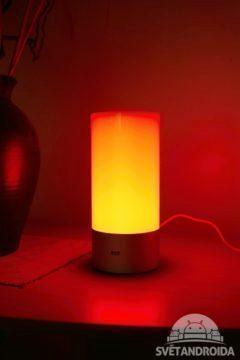 Xiaomi Yeelight Lamp červená