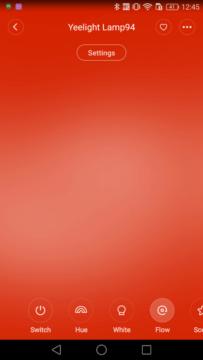 Xiaomi Yeelight Lamp Flow 1
