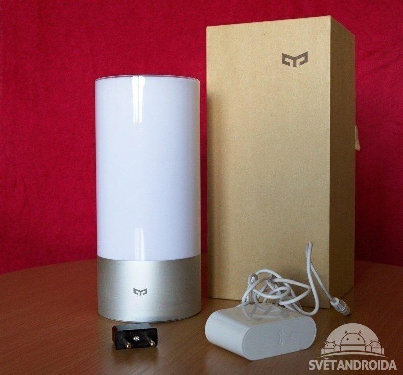 Xiaomi Yeelight Lamp obsah balení