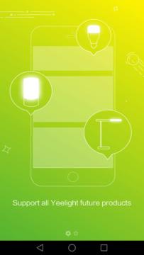 Xiaomi Yeelight Lamp první spuštění 1