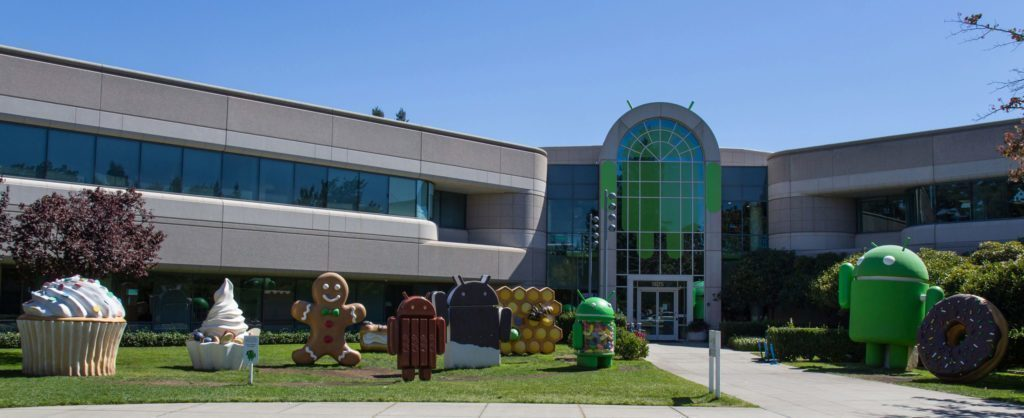 Sochy v Googleplexu