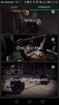 aplikace fitness