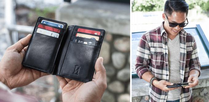 Peněženka s powerpackem