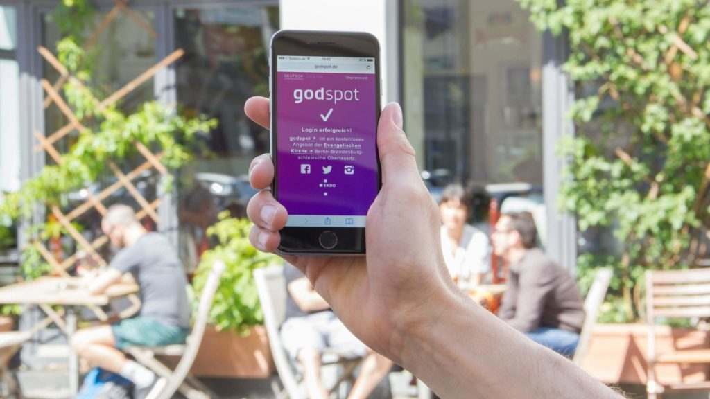 godspot - wifi