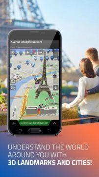 Význačné body a mapy měst má iGo ve 3D