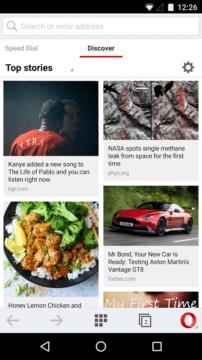Prohlížeč pro Android