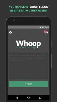 whoop aplikace android