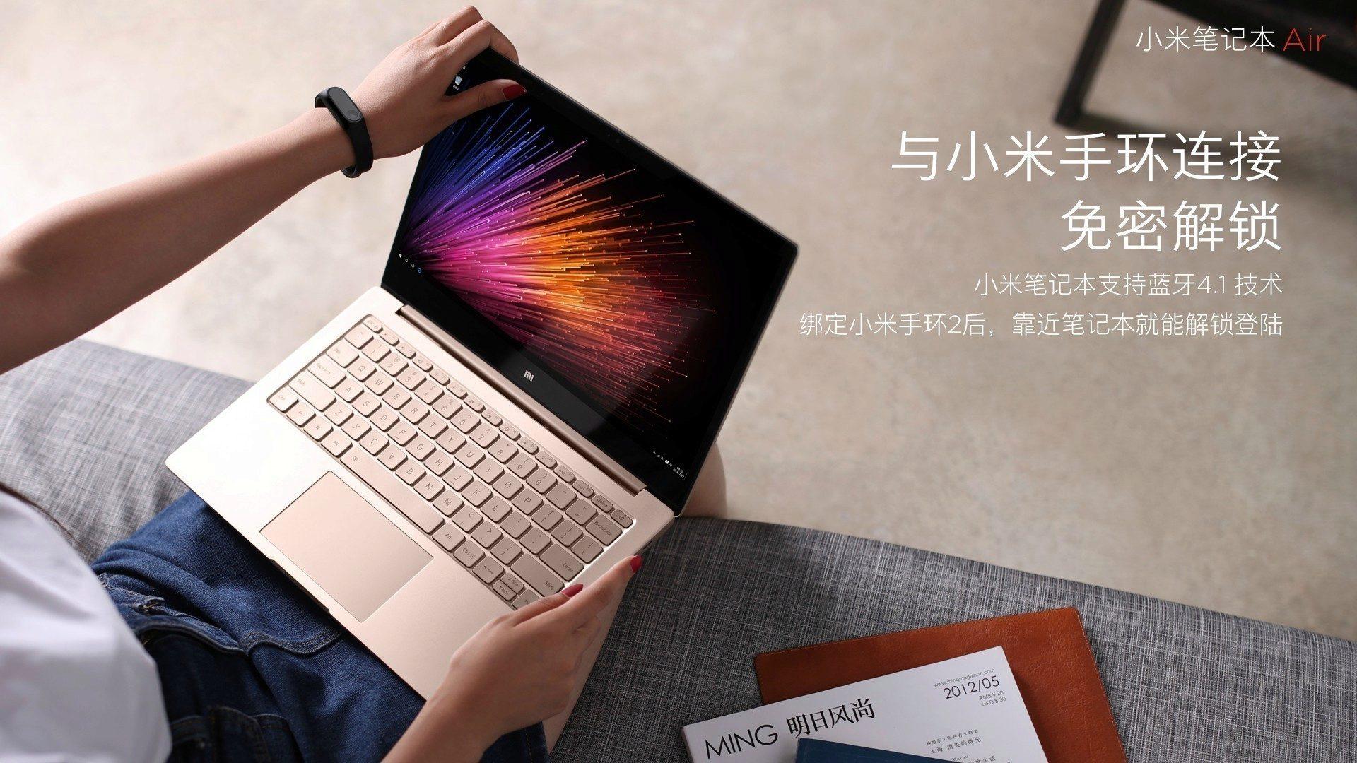 Xiaomi Mi Notebook Air oficiálně: vysoká mobilita a nízká cena