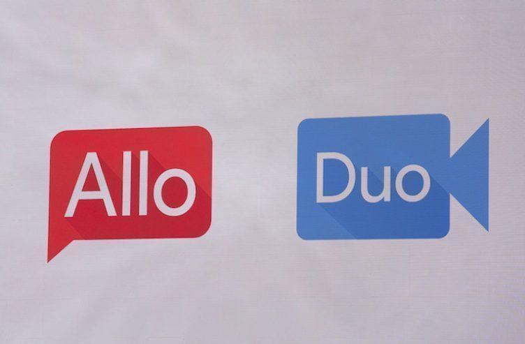 Původní ikony Allo a Duo z května