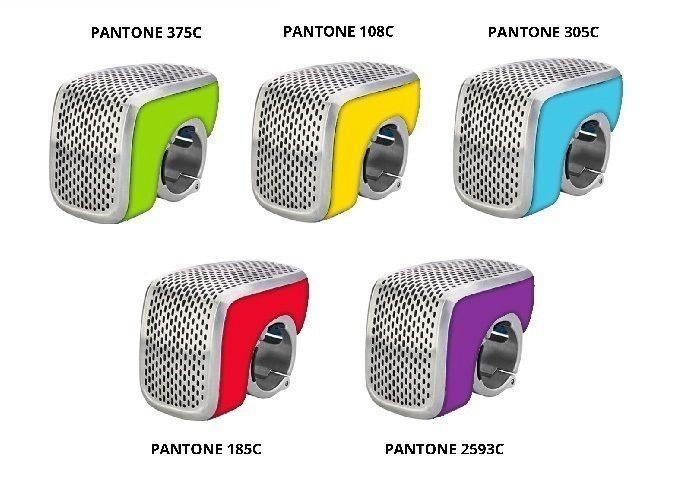 Pět barevných provedení