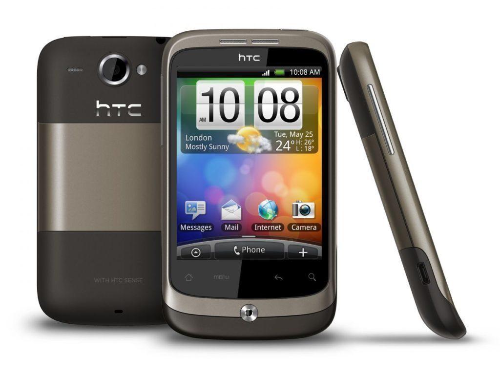 5 nepovedenych telefonu - HTC Wildfire