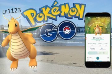 Aktualizace serveru Pokemon Go