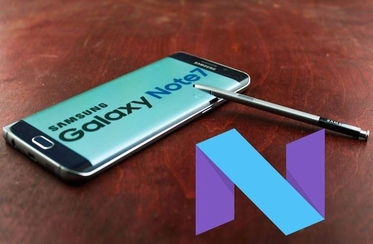 Android 7 – note 7
