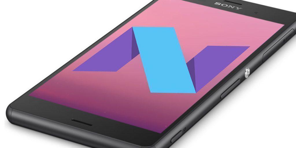 Na telefonu Sony Xperia Z3 běžel Nugát v pohodě