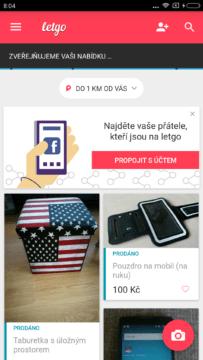 Aplikace LetGo