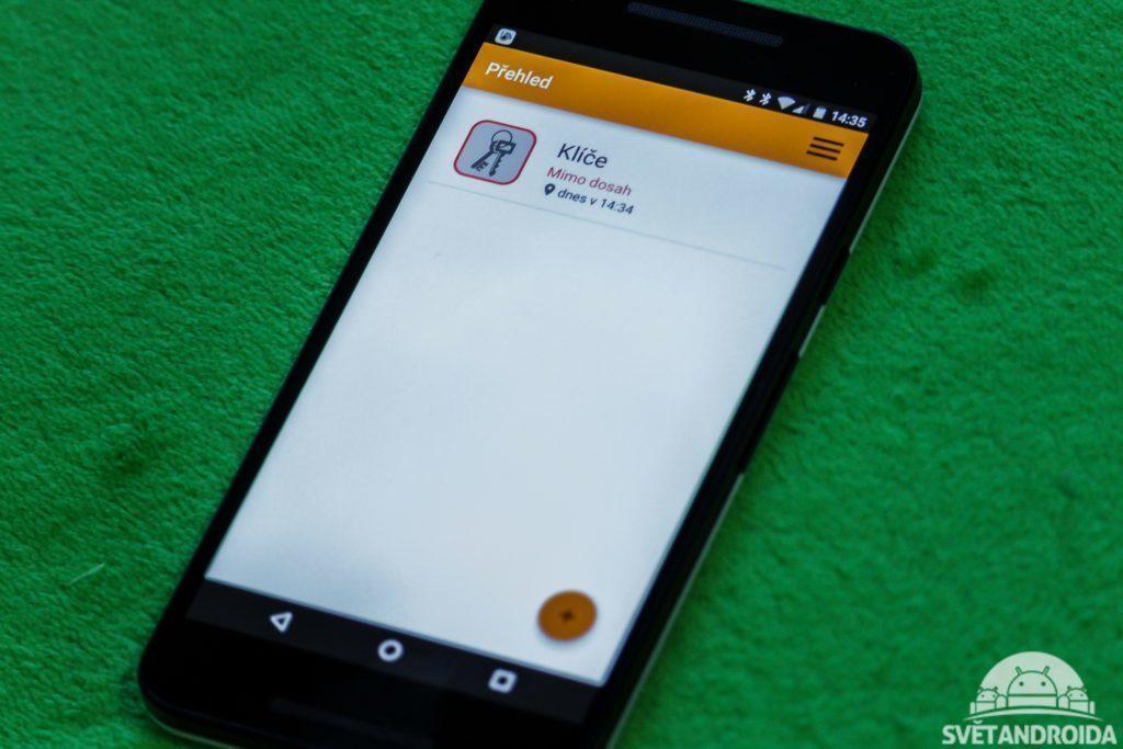 Beenode - telefon s aplikací
