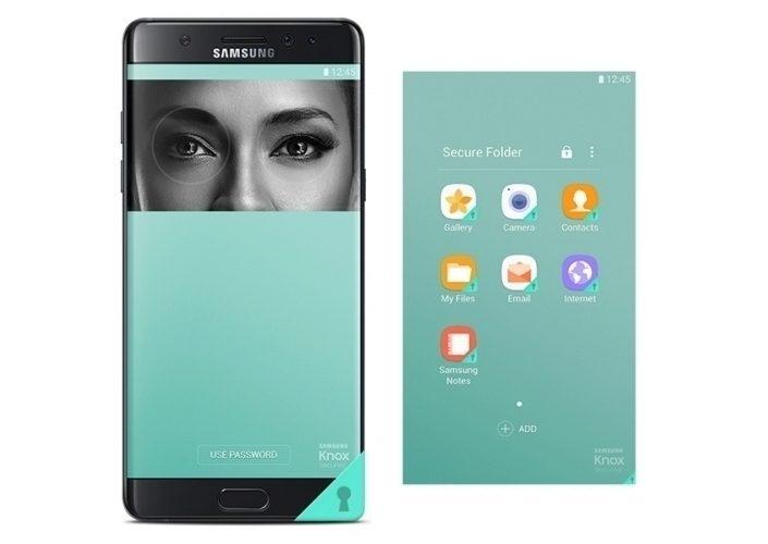 Samsung blíže představil snímač duhovky