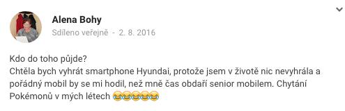 Hyundai vyhra - bohy