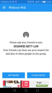 Jak posilat soubory pres Wi-Fi – shareonwifi 3