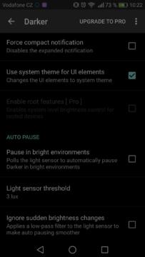Jak pouzivat telefon v noci – darker 2