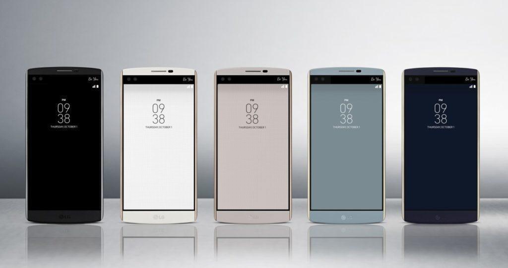 LG V20 naváže na loňský model V10