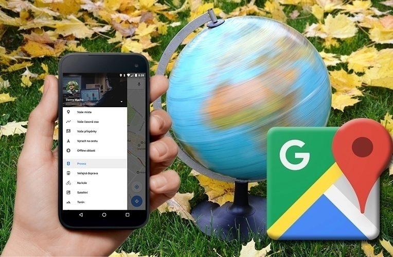 Mapy Google – náhleďák