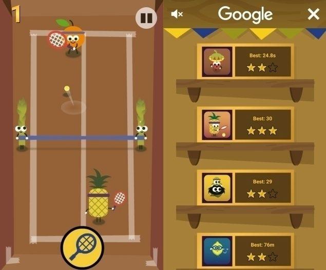 Google - ovocná olympiáda