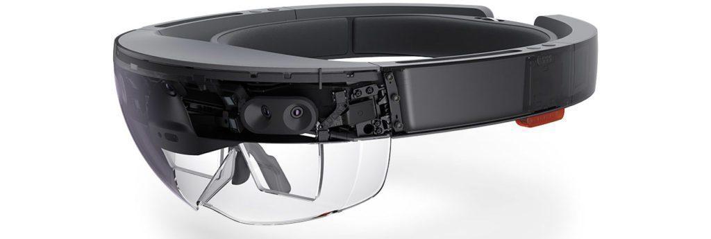 Microsoft HoloLens - konstrukce