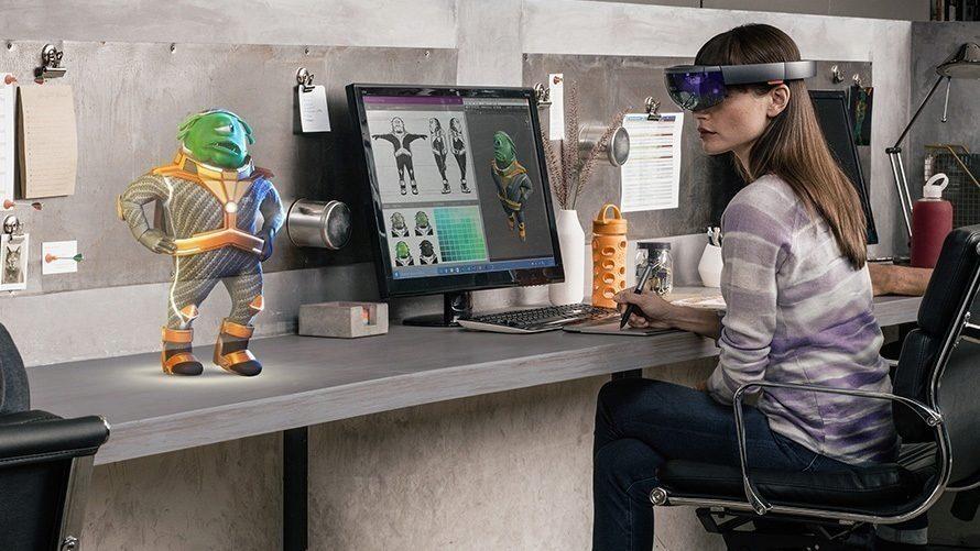 Microsoft HoloLens - prostredi 2