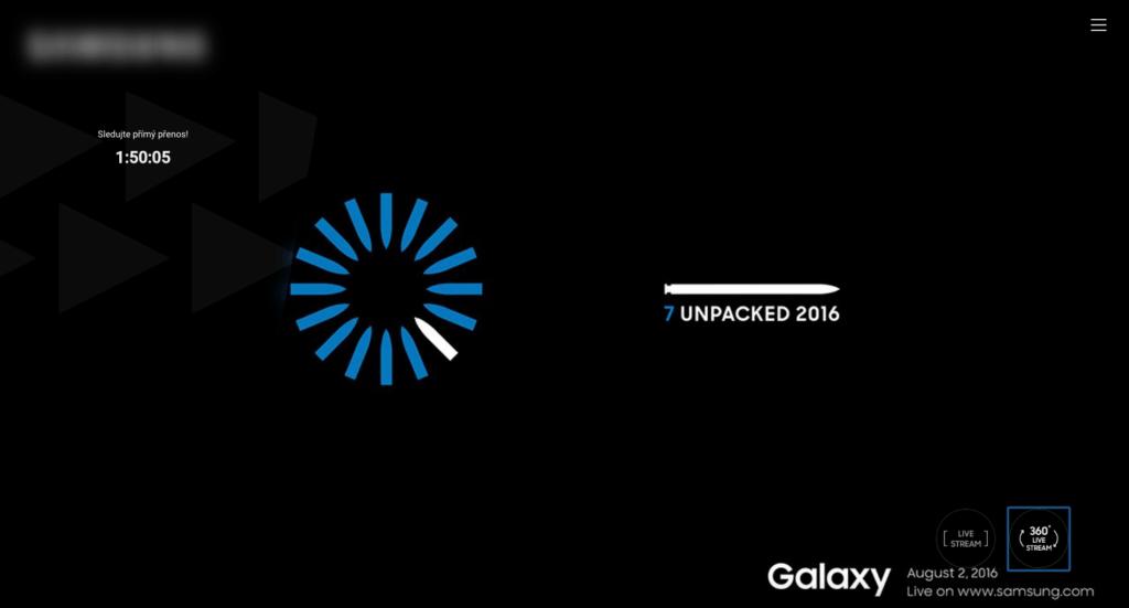 Predstaveni Samsung Galaxy Note 7