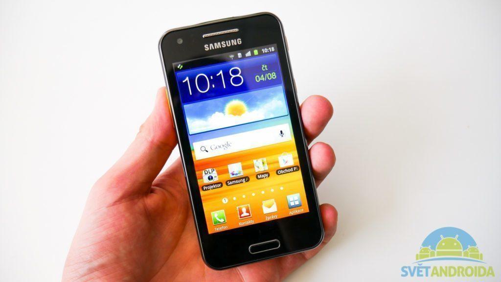 Samsung Galaxy Beam - smartphone s projektorem