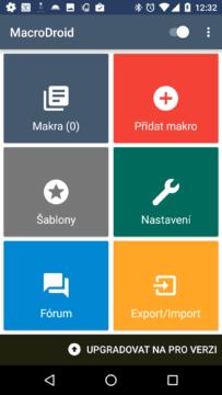 Macrofroid: nejlepší aplikace pro automatizaci telefonu dle čtenářů