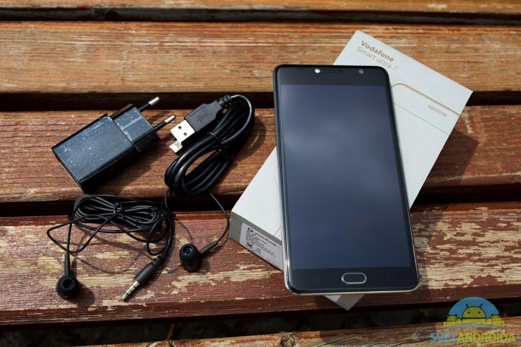 Vodafone Smart Ultra 7 obsah balení