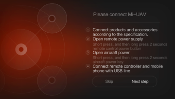 Xiaomi MiDrone android aplikace (11)