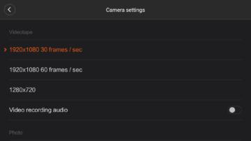 Xiaomi MiDrone android aplikace (23)