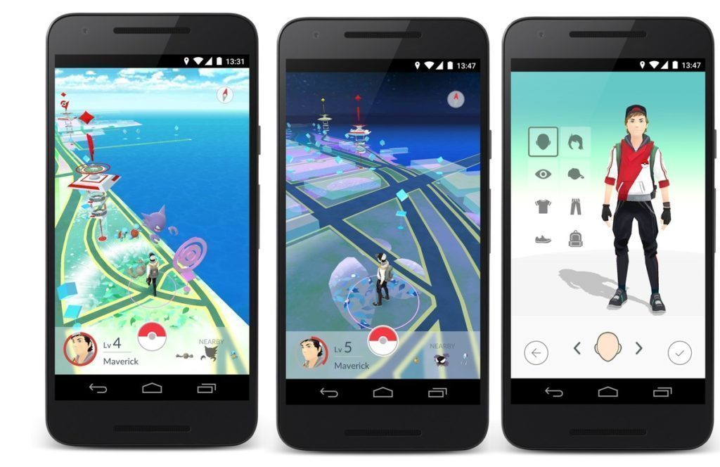 Zakazane praktiky Pokemon Go - zarizeni