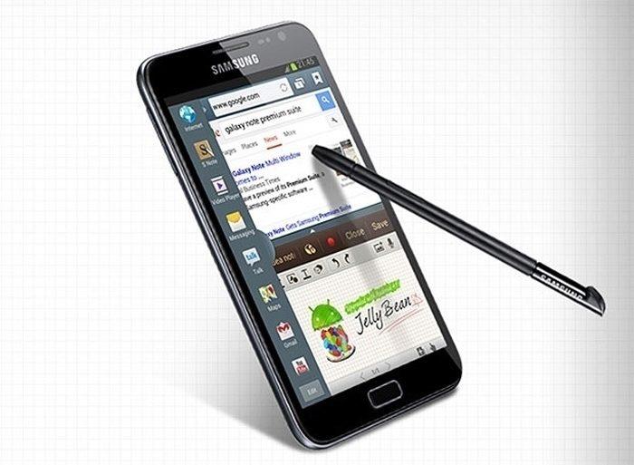 Podporu práce ve více oknech měl už Samsung Galaxy Note 2